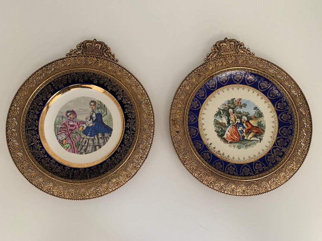Lot # 40 Classical English Collectable Plates (main image)