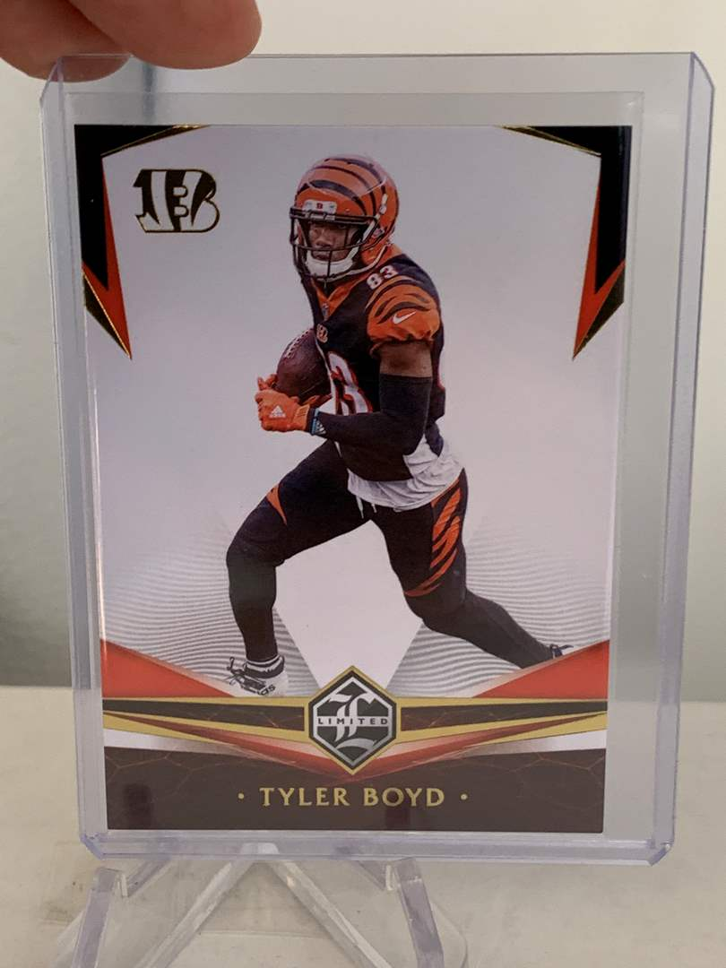Lot # 54 2020 Panini Limited TYLER BOYD Bengals (main image)