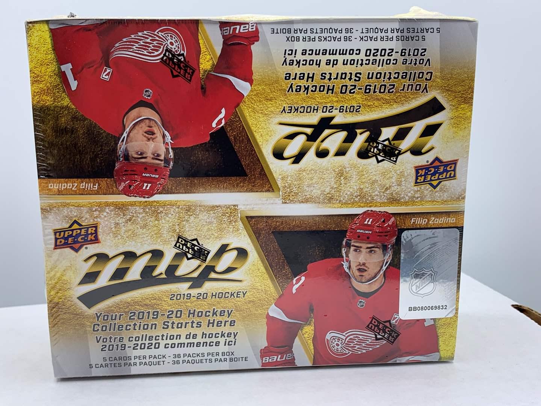 Lot # 67 Sealed Box 2019-20 Upper Deck MVP Hockey (main image)
