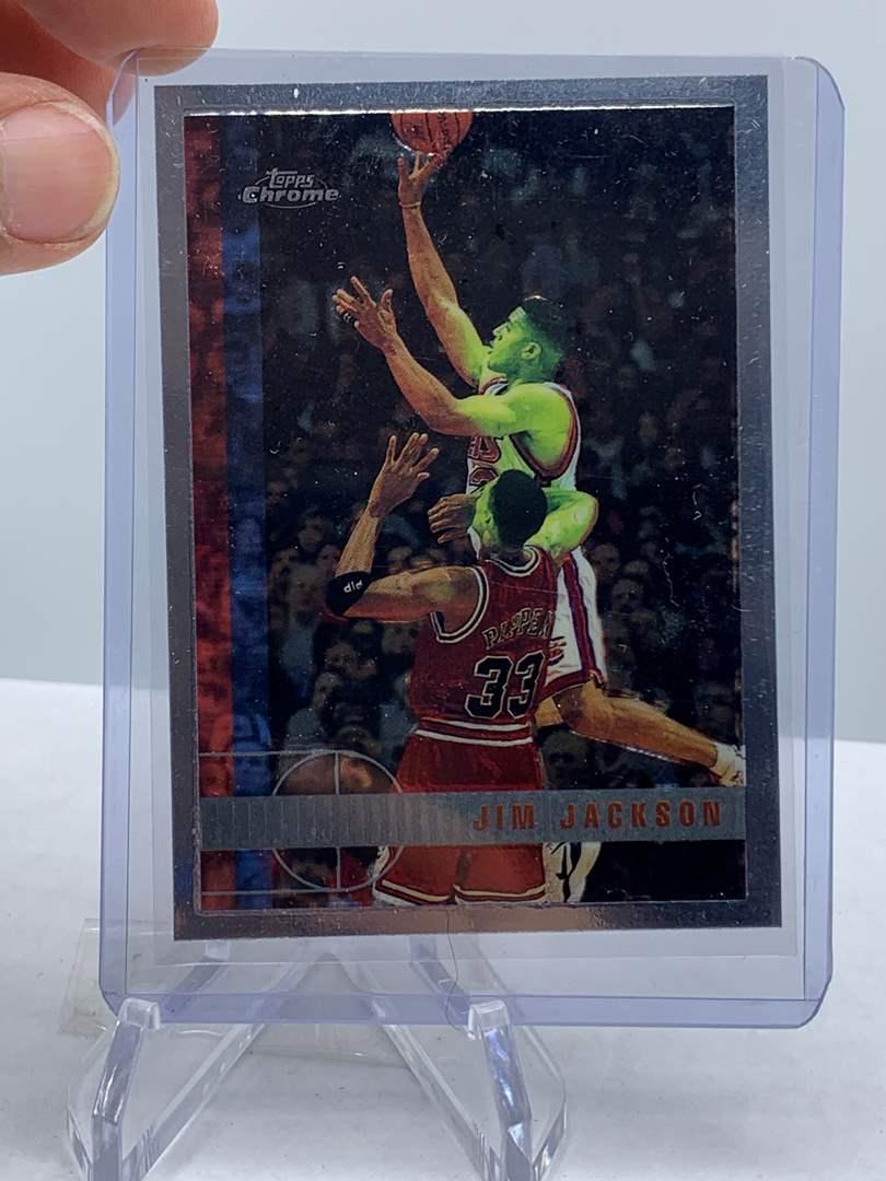Lot # 73 1998 Topps Chrome NBA JIM JACKSON (main image)