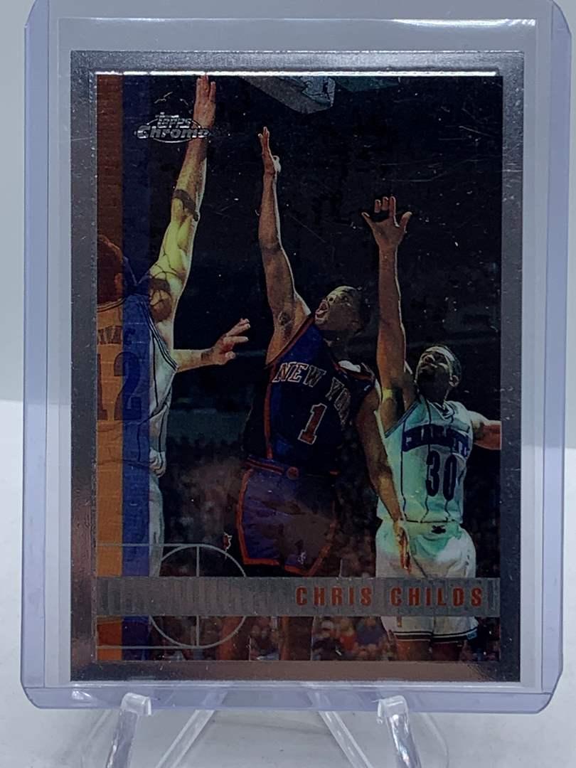 Lot # 75 1998 Topps Chrome NBA CHRIS CHILDS (main image)