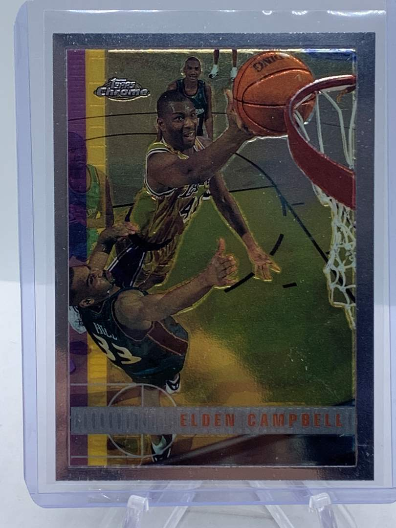 Lot # 76 1998 Topps Chrome NBA ELDEN CAMPBELL (main image)