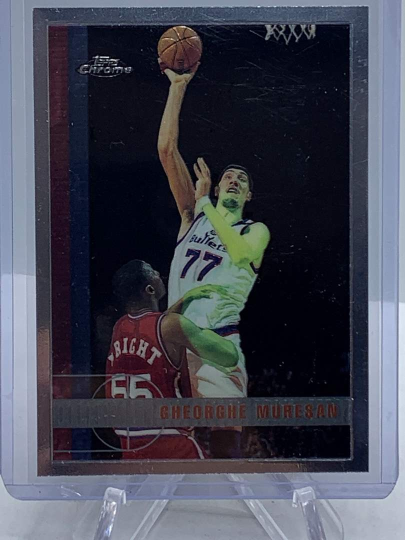 Lot # 77 1998 Topps Chrome NBA GHEORGHE MURESAN (main image)