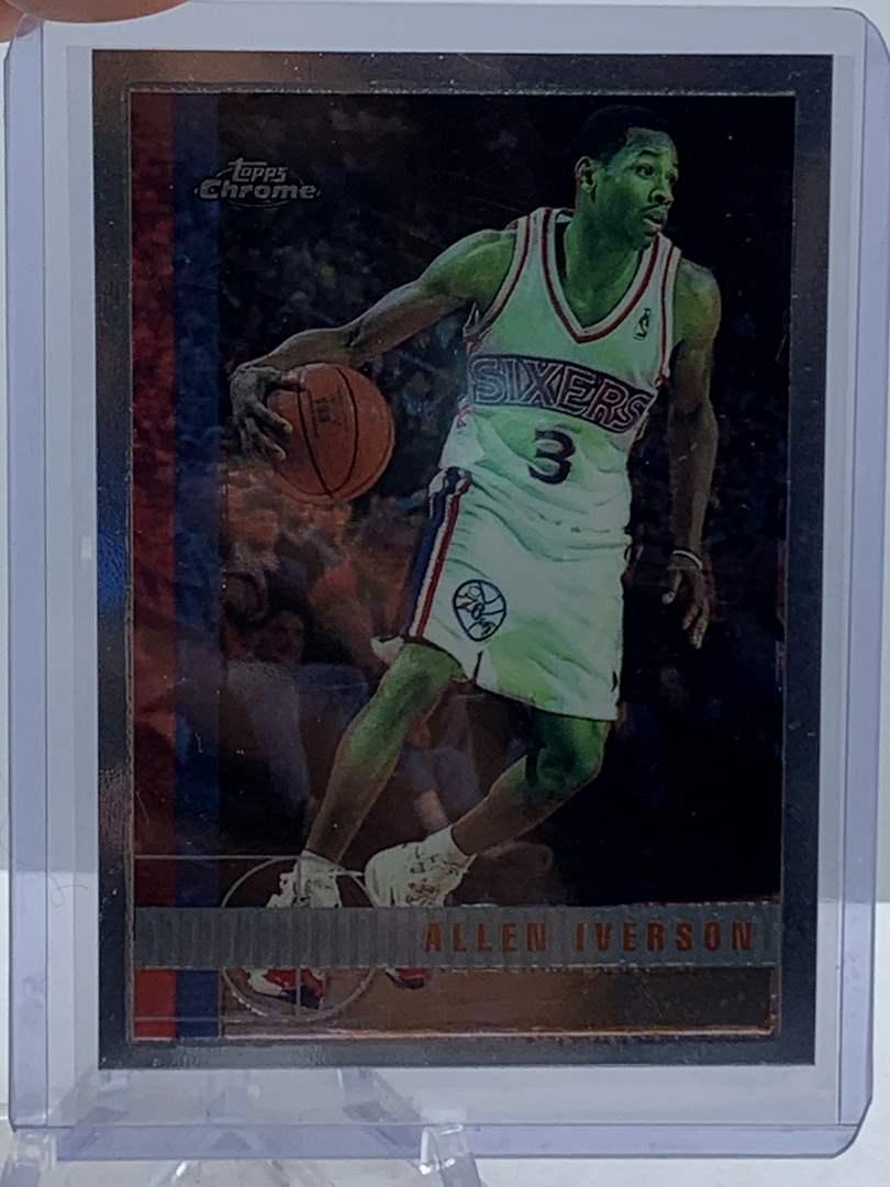 Lot # 79 1998 Topps Chrome NBA ALLEN IVERSON (main image)
