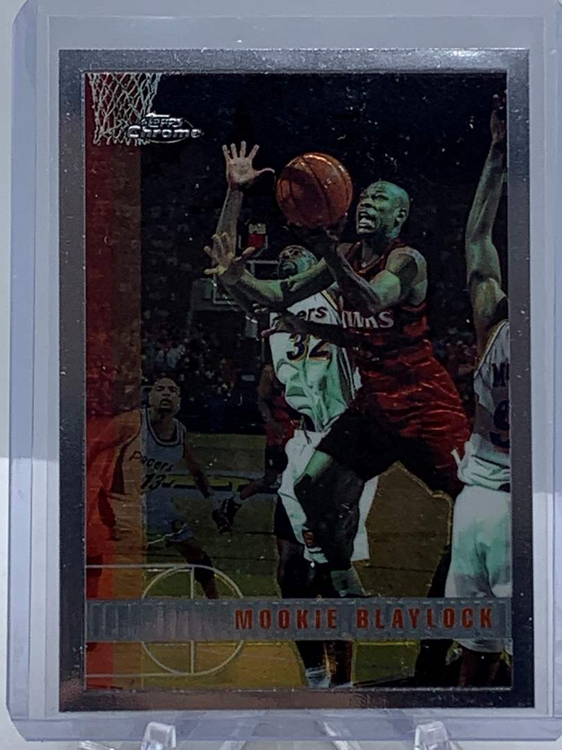 Lot # 84 1998 Topps Chrome NBA MOOKIE BLAYLOCK (main image)