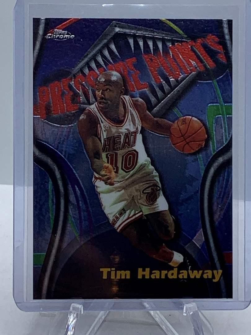 Lot # 86 1998 Topps Chrome NBA TIM HARDAWAY Pressure Points (main image)