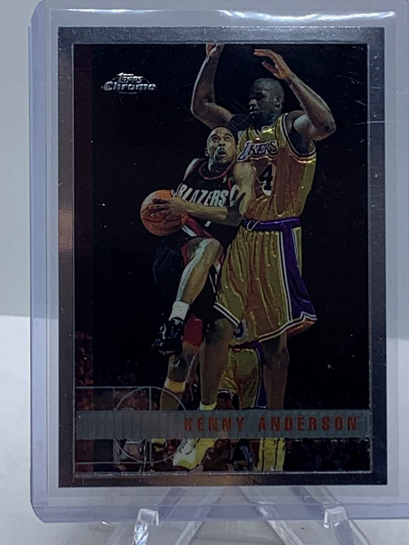 Lot # 87 1998 Topps Chrome NBA KENNY ANDERSON (main image)