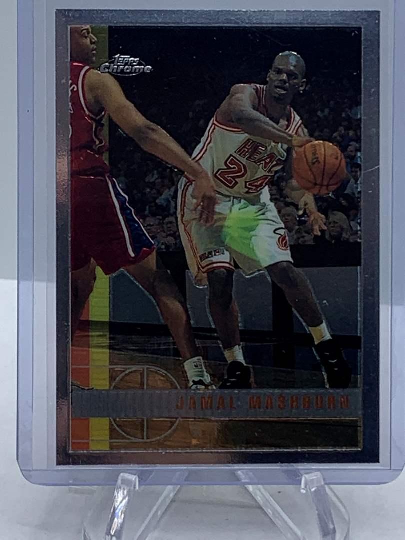 Lot # 89 1998 Topps Chrome NBA JAMAL MASHBURN (main image)