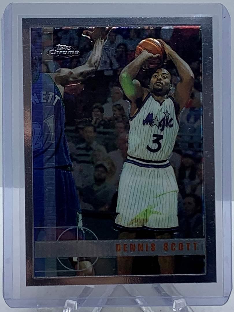 Lot # 95 1998 Topps Chrome NBA DENNIS SCOTT (main image)