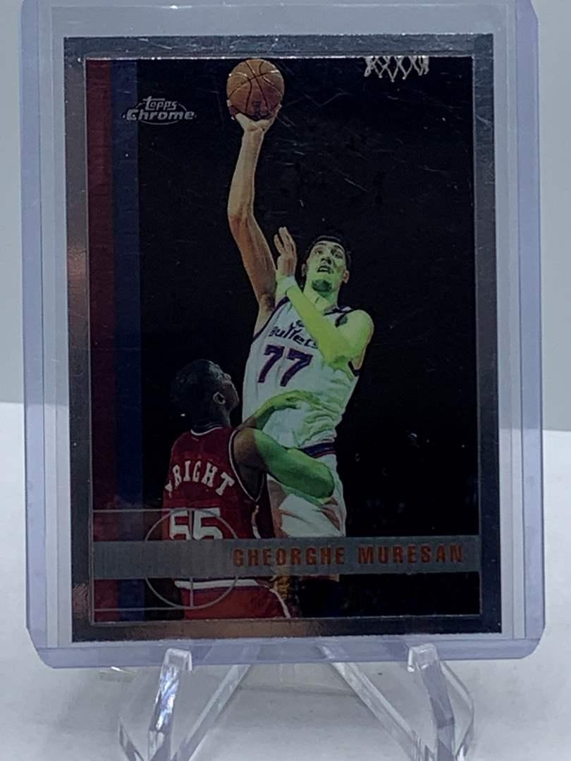 Lot # 97 1998 Topps Chrome NBA GHEORGHE MURESAN (main image)