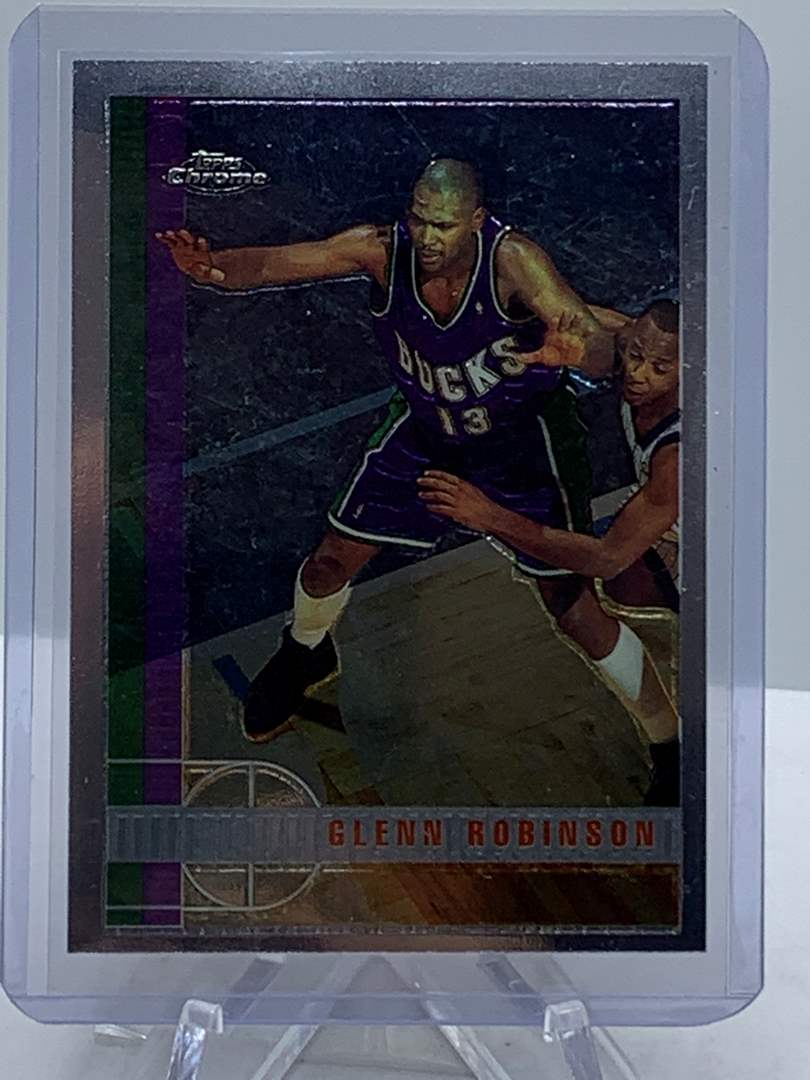 Lot # 99 1998 Topps Chrome NBA GLENN ROBINSON (main image)