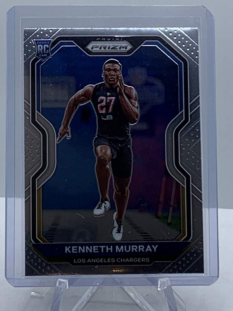 Lot # 164 2020 Panini Prizm KENNETH MURRAY Chargers (main image)