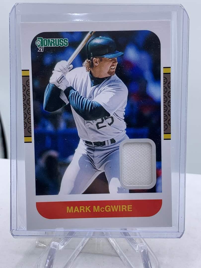 Lot # 171 2021 Panini Donruss Baseball MARK MCGWIRE Relic  (main image)