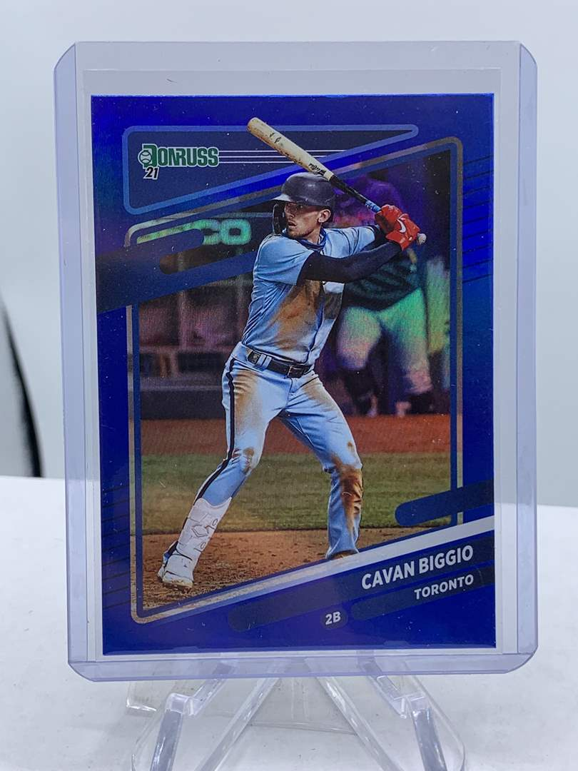 Lot # 175 2021 Panini Donruss Baseball CAVAN BIGGIO (main image)