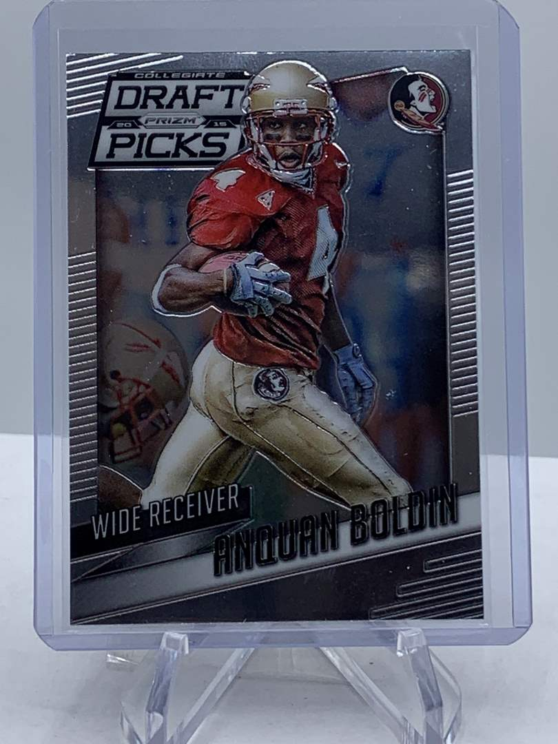 Lot # 226 2015 Panini Collegiate Draft Picks Football ANQUAN BOLDIN (main image)
