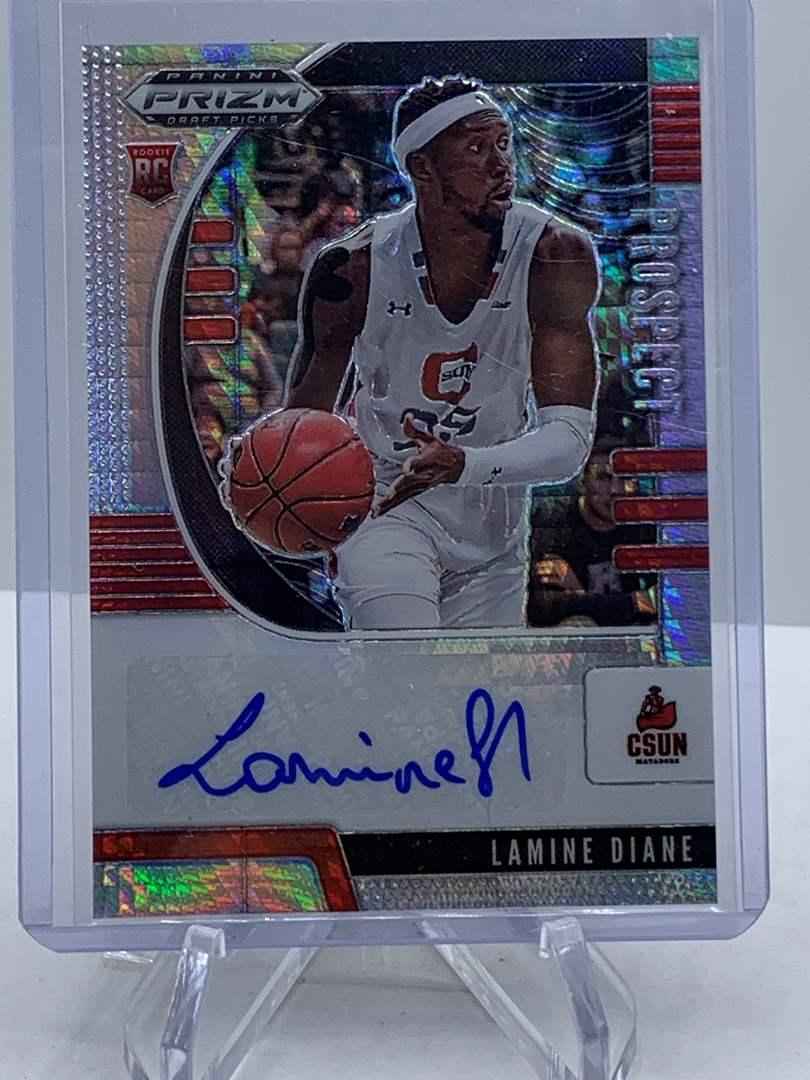 Lot # 234 Panini Prizm Draft Picks LAMINE DIANE Auto (main image)
