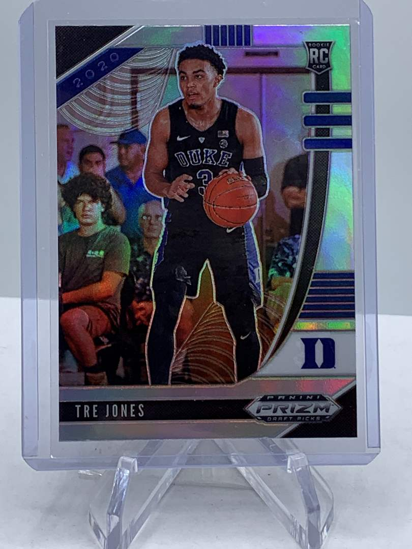 Lot # 239 Panini Prizm Draft Picks TRE JONES (main image)
