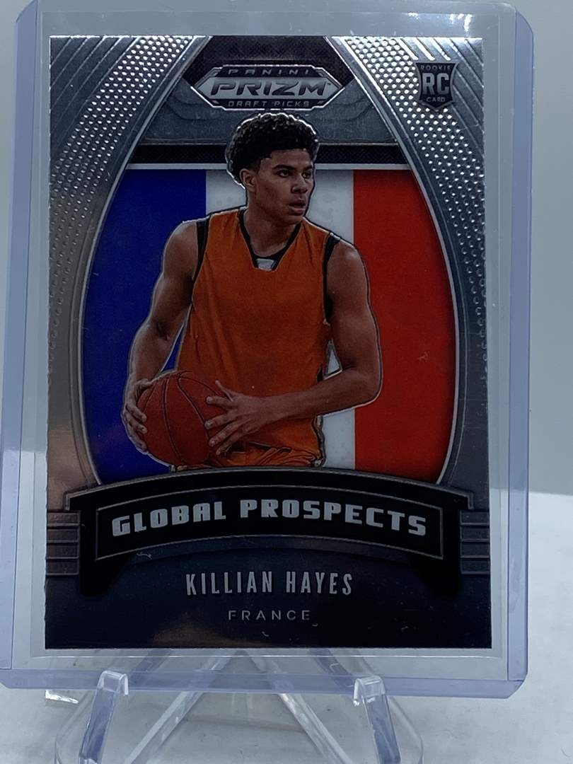 Lot # 243 Panini Prizm Draft Picks KILLIAN HAYES Global Prospects (main image)