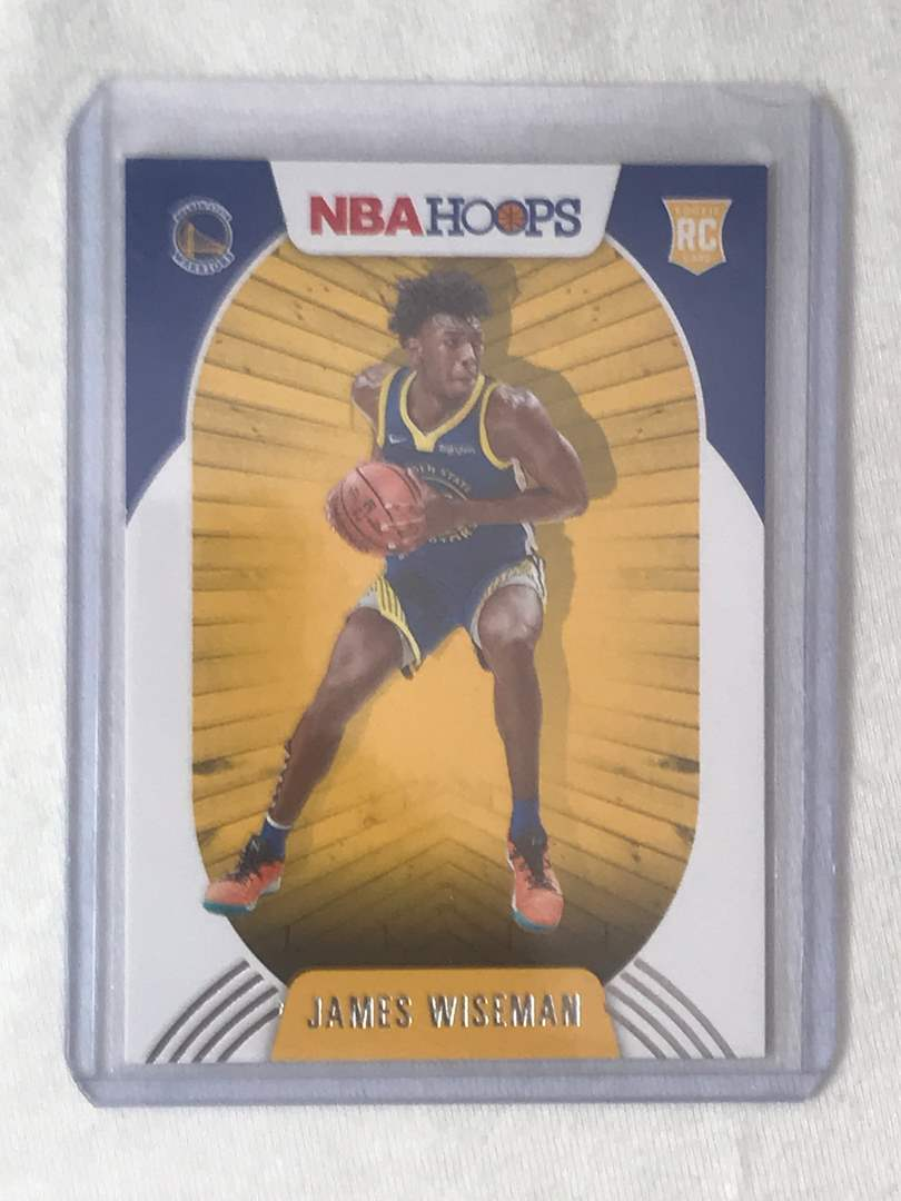 Lot # 7 2020-2021 Panini Hoops RC JAMES WISEMAN (main image)