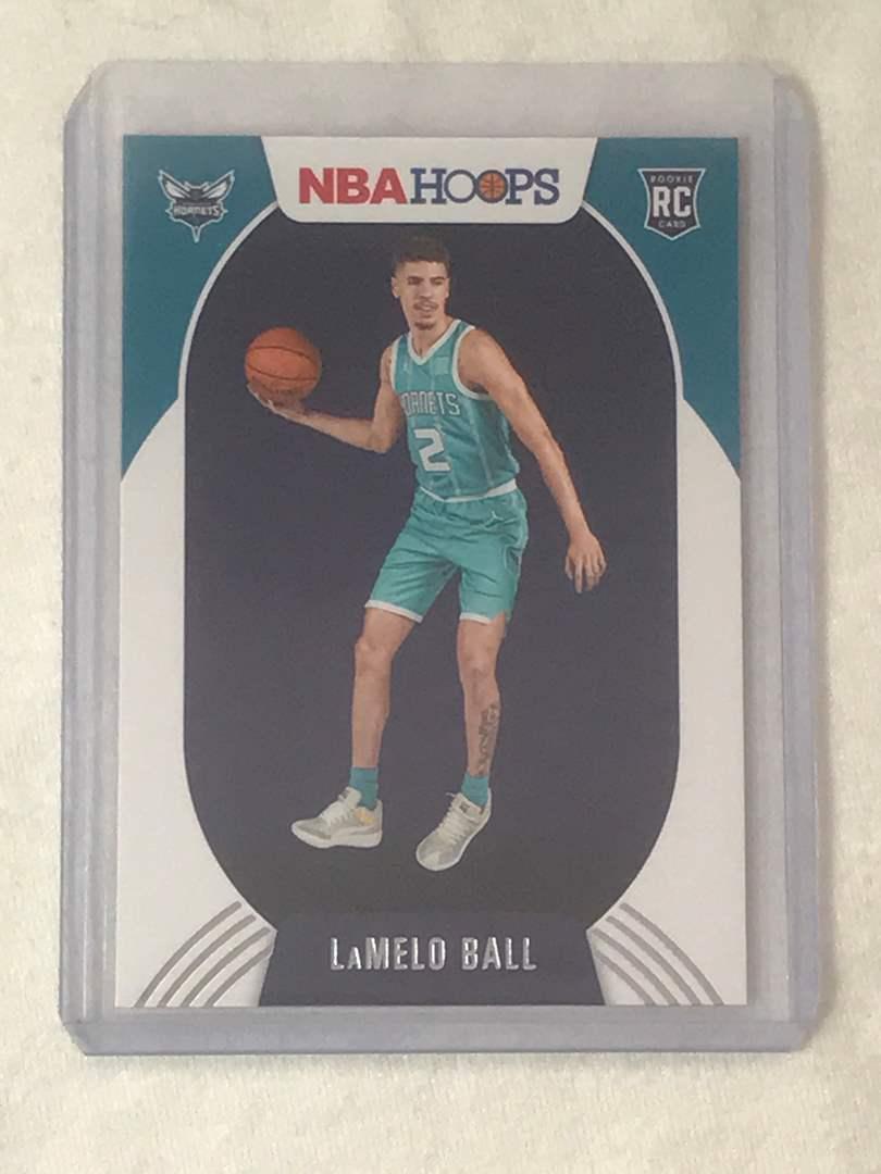 Lot # 15 2020-2021 Panini Hoops RC LAMELO BALL  (main image)