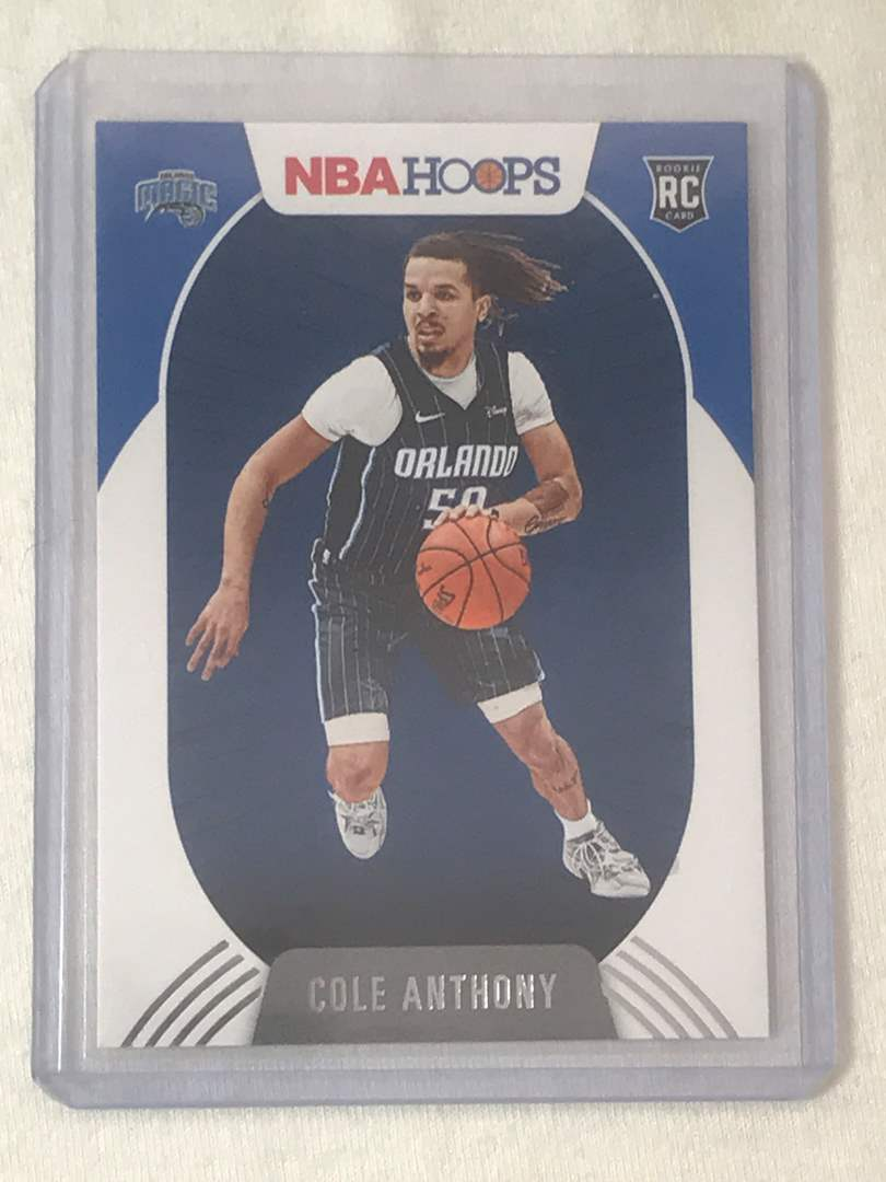 Lot # 20 2020-2021 Panini Hoops RC COLE ANTHONY (main image)