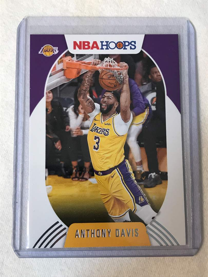 Lot # 26 2020-2021 Panini Hoops ANTHONY DAVIS (main image)