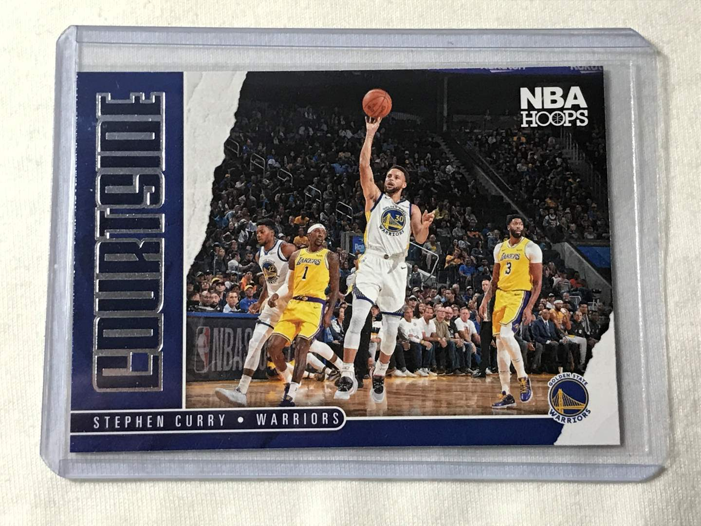 Lot # 42 2020-2021 Panini Hoops COURTSIDE STEPHEN CURRY (main image)