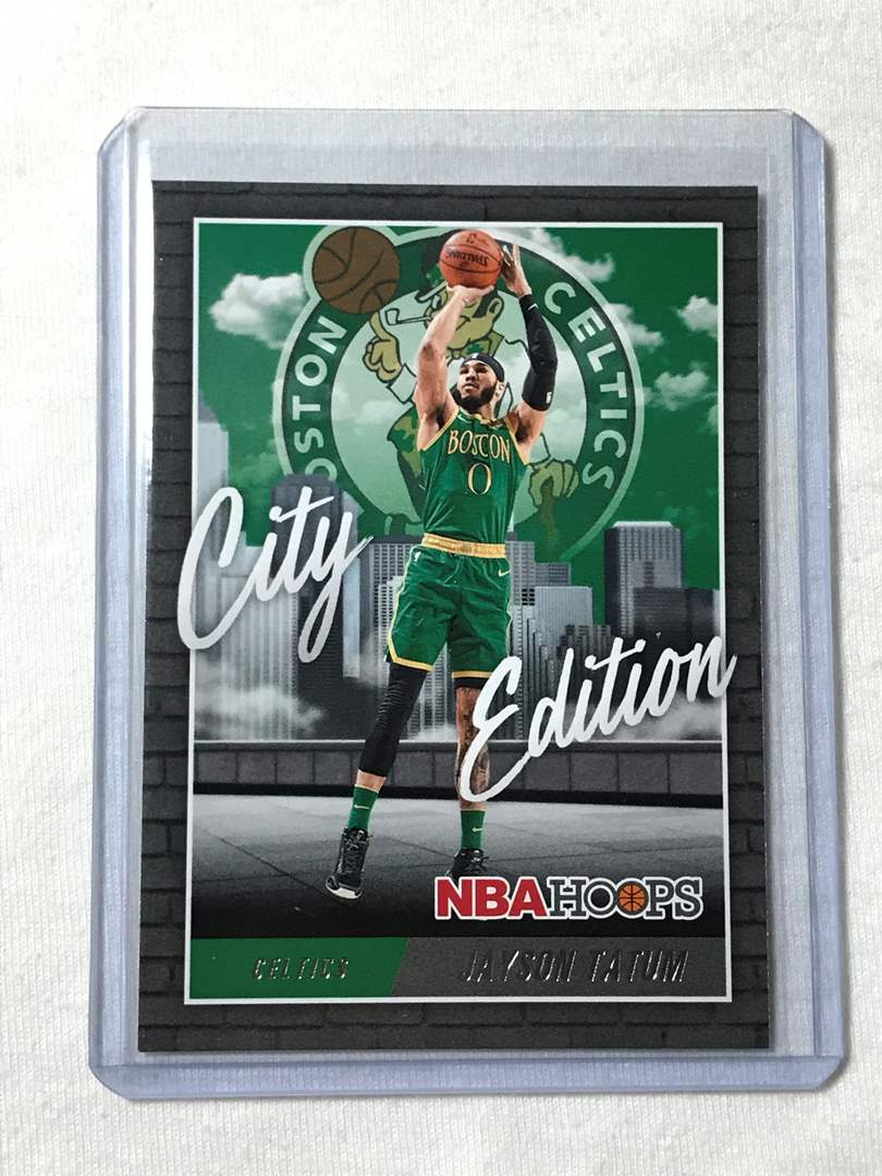 Lot # 46 2020-2021 Panini Hoops City Edition JAYSON TATUM (main image)