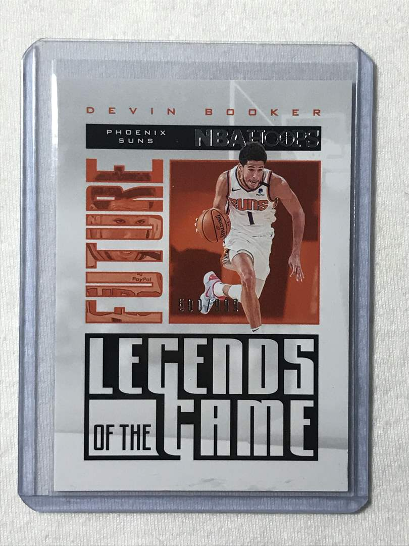 Lot # 53 2020-2021 Panini Hoops Legends DEVIN BOOKER (main image)