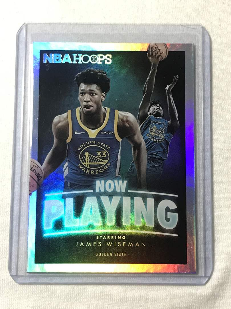 Lot # 54 2020-2021 Panini Hoops Now Playing JAMES WISEMAN  (main image)