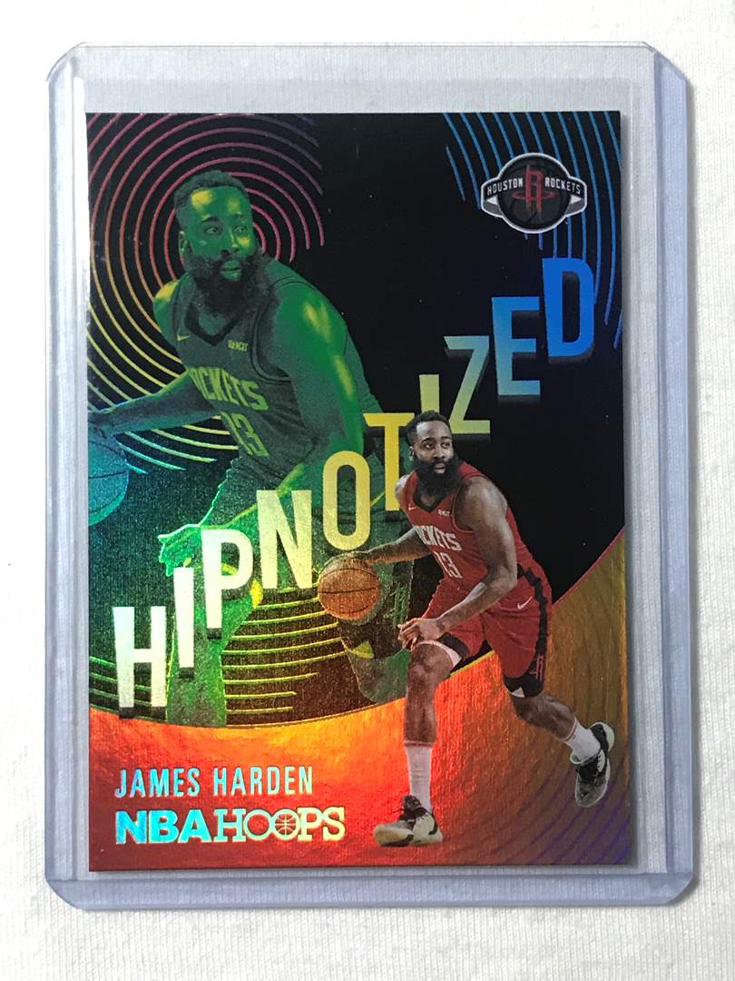 Lot # 57 2020-2021 Panini Hoops Hypnotized JAMES HARDEN  (main image)