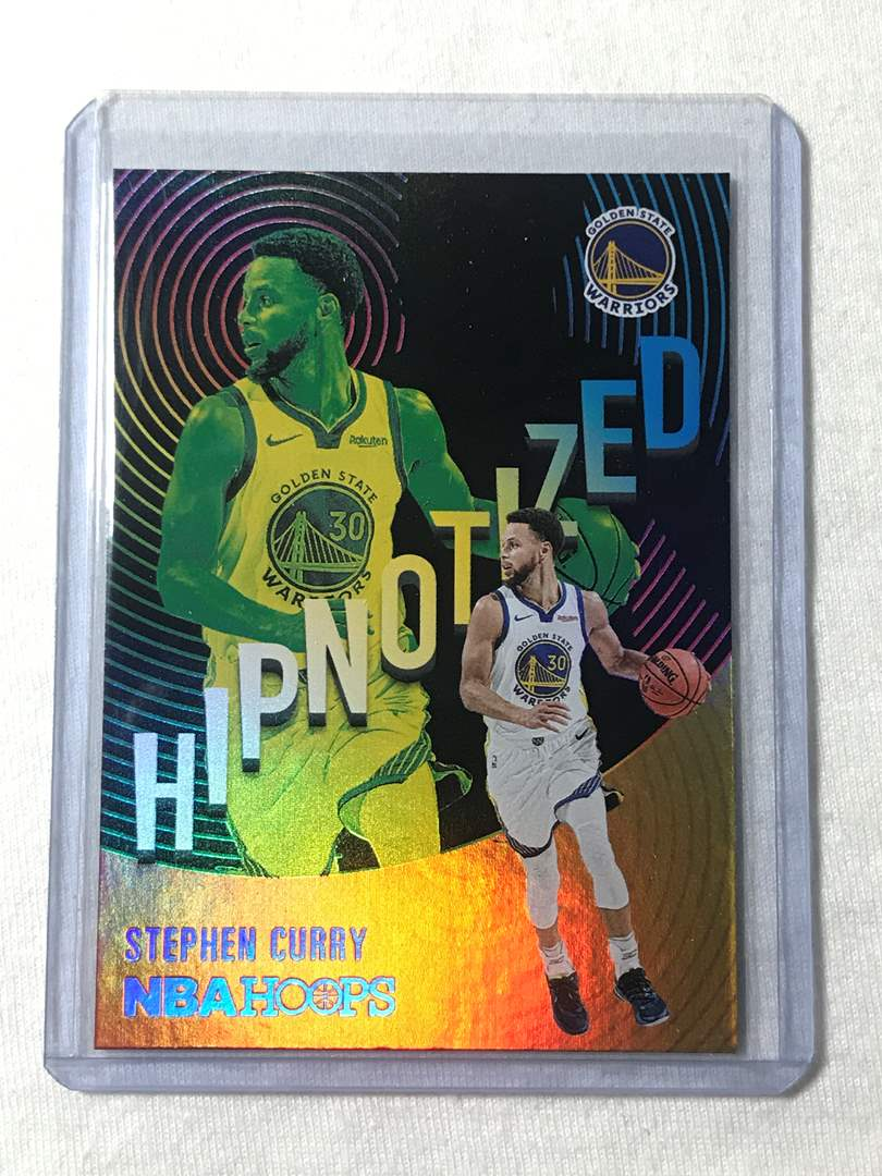 Lot # 59 2020-2021 Panini Hoops HIpnotized STEPHEN CURRY (main image)