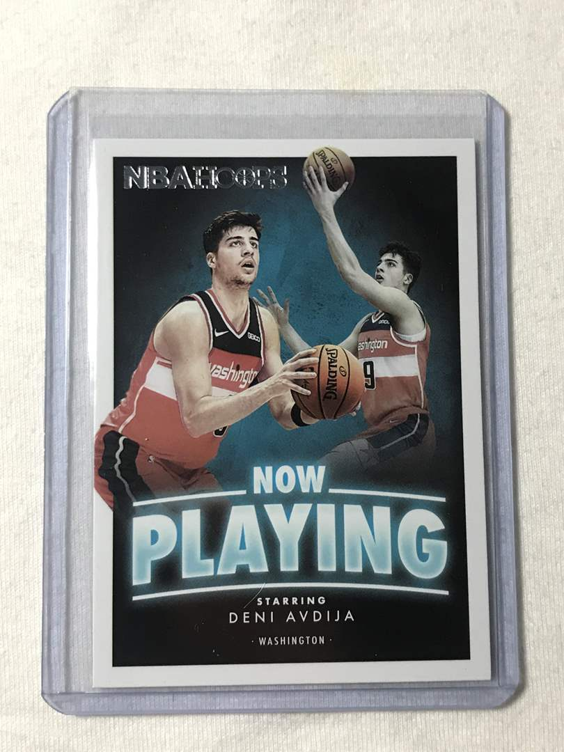 Lot # 63 2020-2021 Panini Hoops Now Playing DENI AVDIJA (main image)