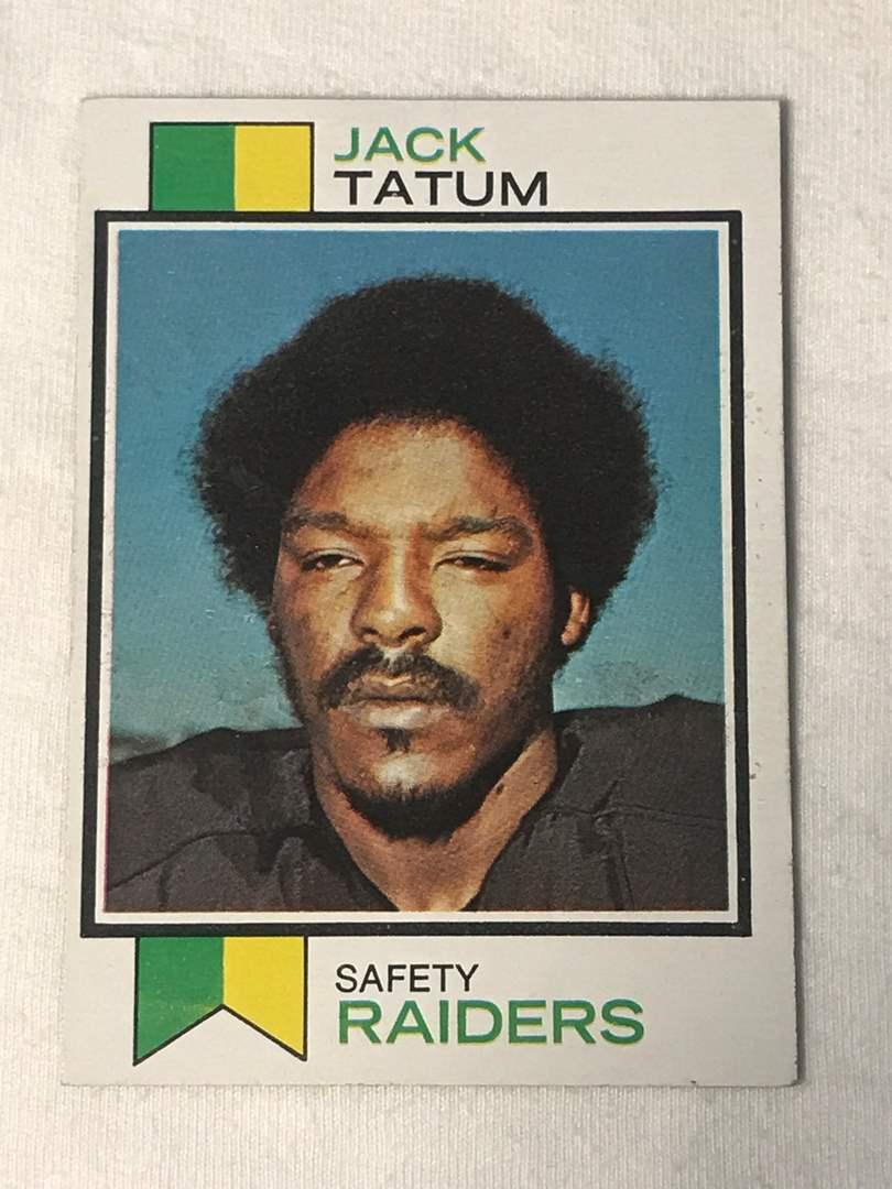 Lot # 157 1973 Topps JACK TATUM (main image)