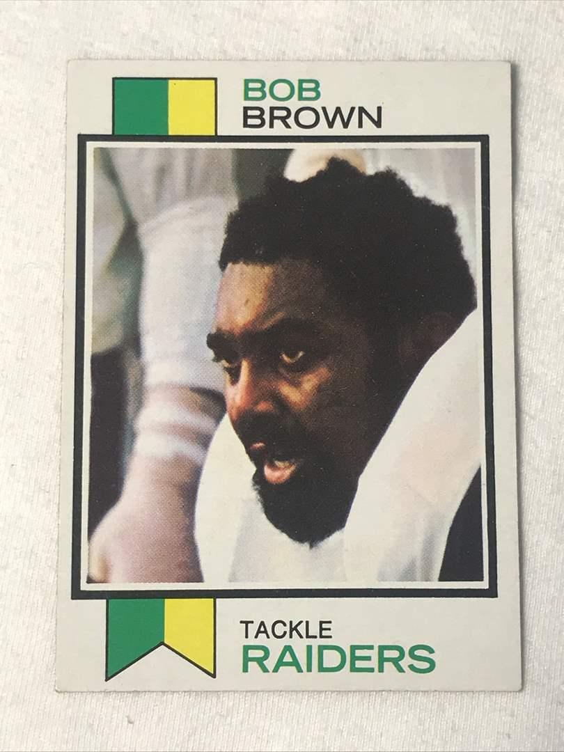 Lot # 160 1973 Topps BOB BROWN (main image)