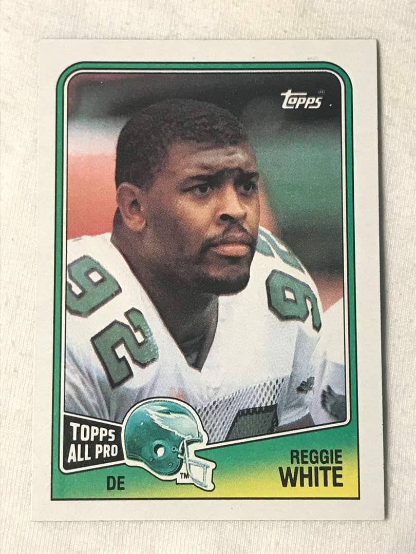 Lot # 165 1988 Topps REGGIE WHITE (main image)