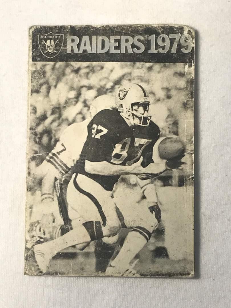 Lot # 174 1979 Oakland Raiders Schedule  (main image)