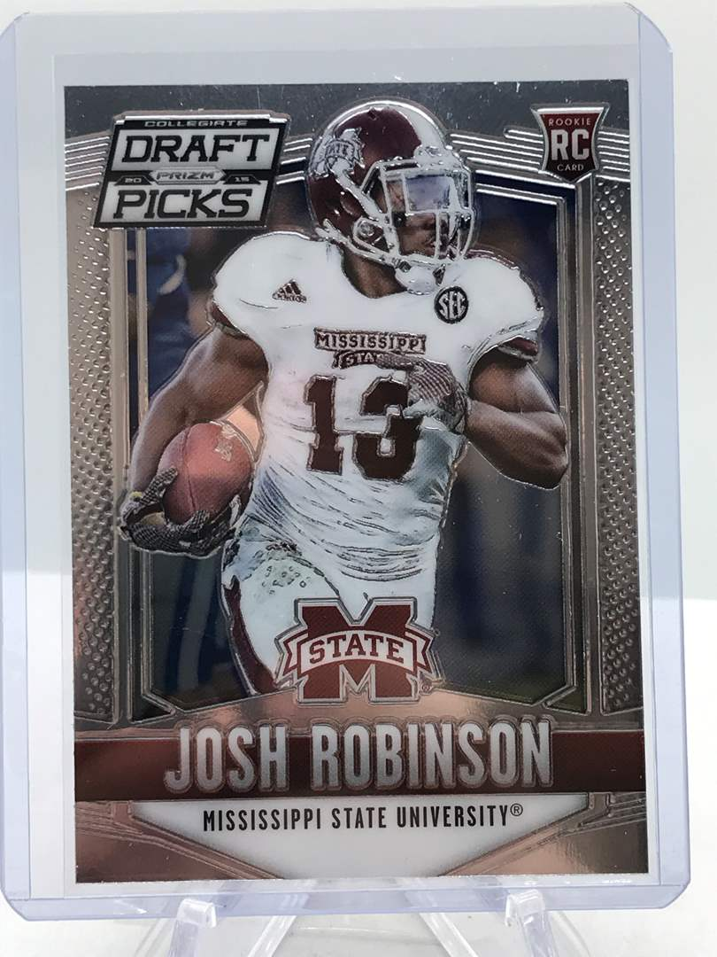 Lot # 187 2015 Panini Collegiate Draft Picks RC JOSH ROBINSON (main image)