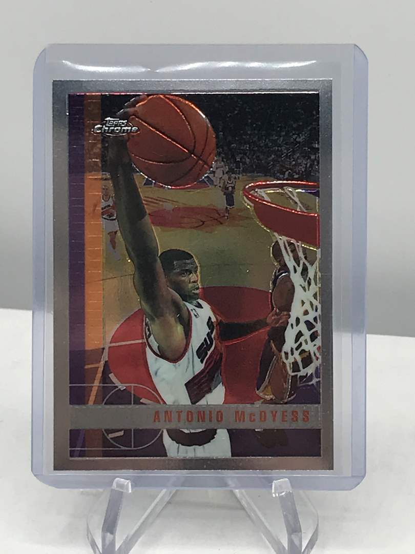 Lot # 208 1997-98 Topps Chrome ANTONIO MCDYESS  (main image)