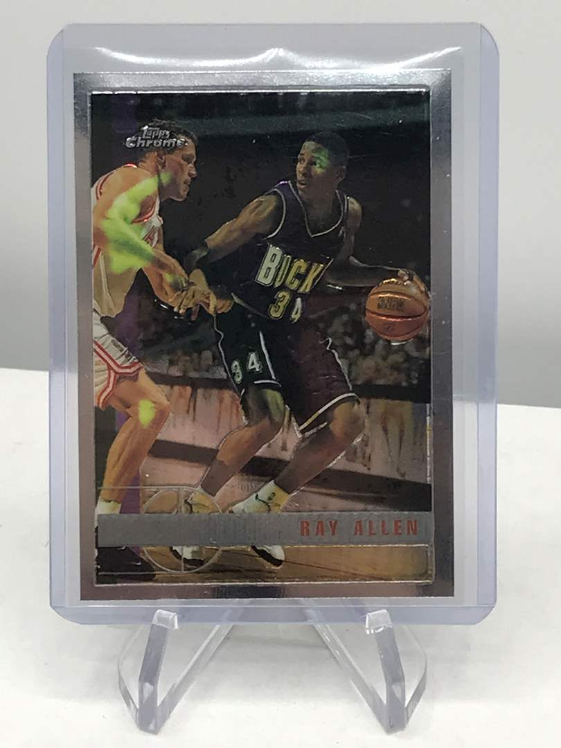 Lot # 212 1997-98 Topps Chrome RAY ALLEN (main image)