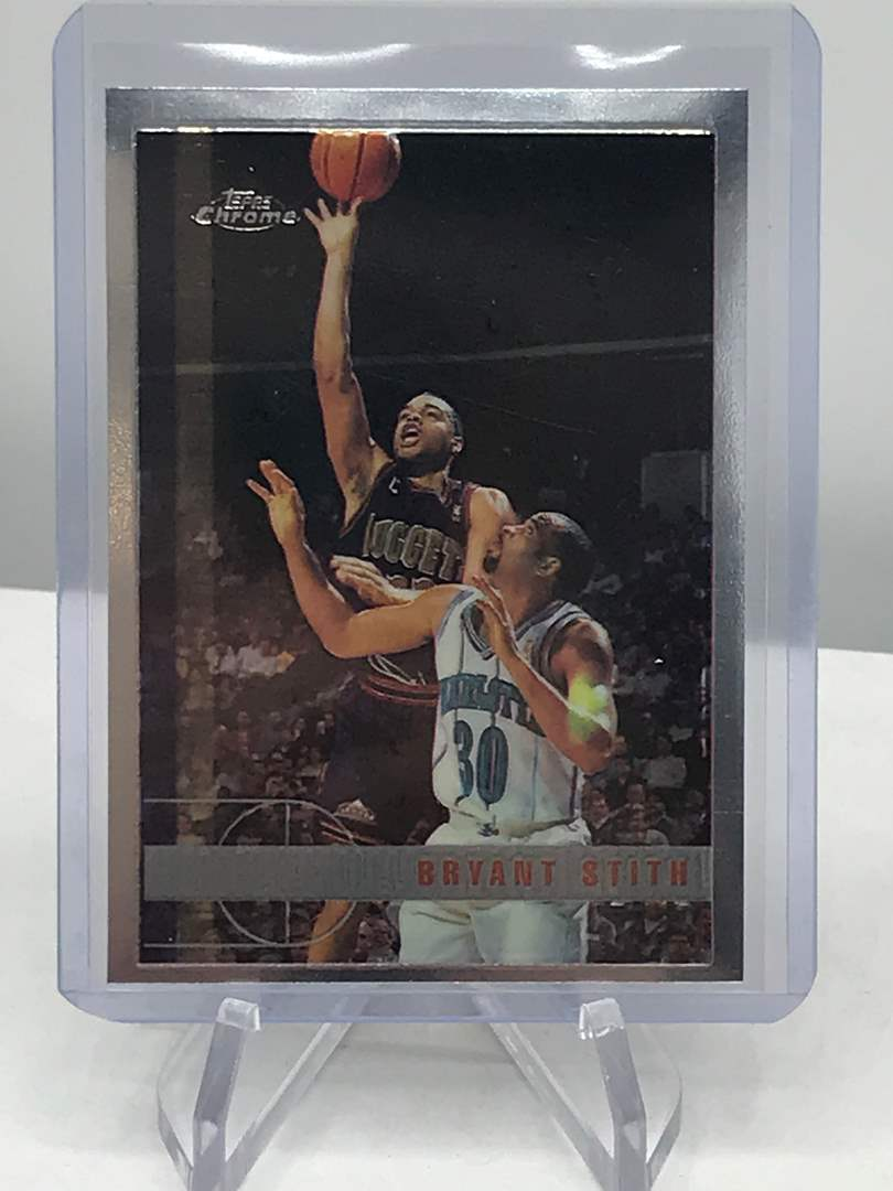 Lot # 222 1997-98 Topps Chrome BRYANT STITH (main image)
