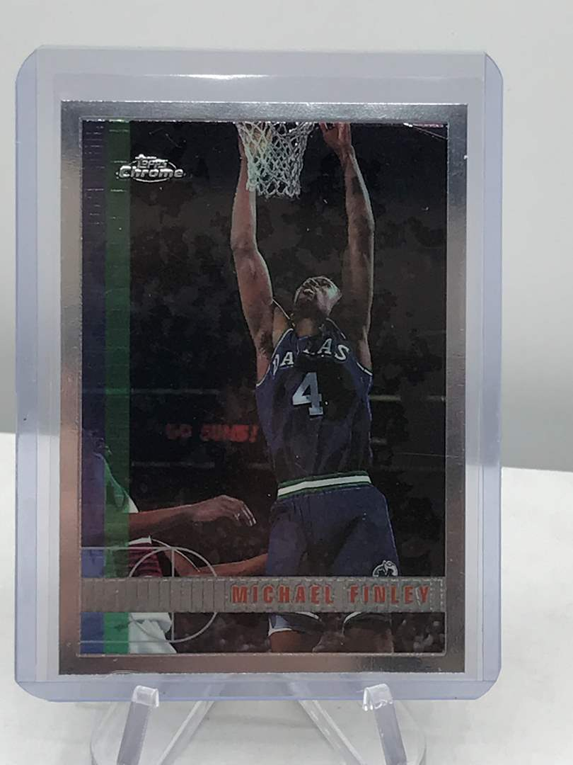 Lot # 225 1997-98 Topps Chrome MICHAEL FINLEY (main image)
