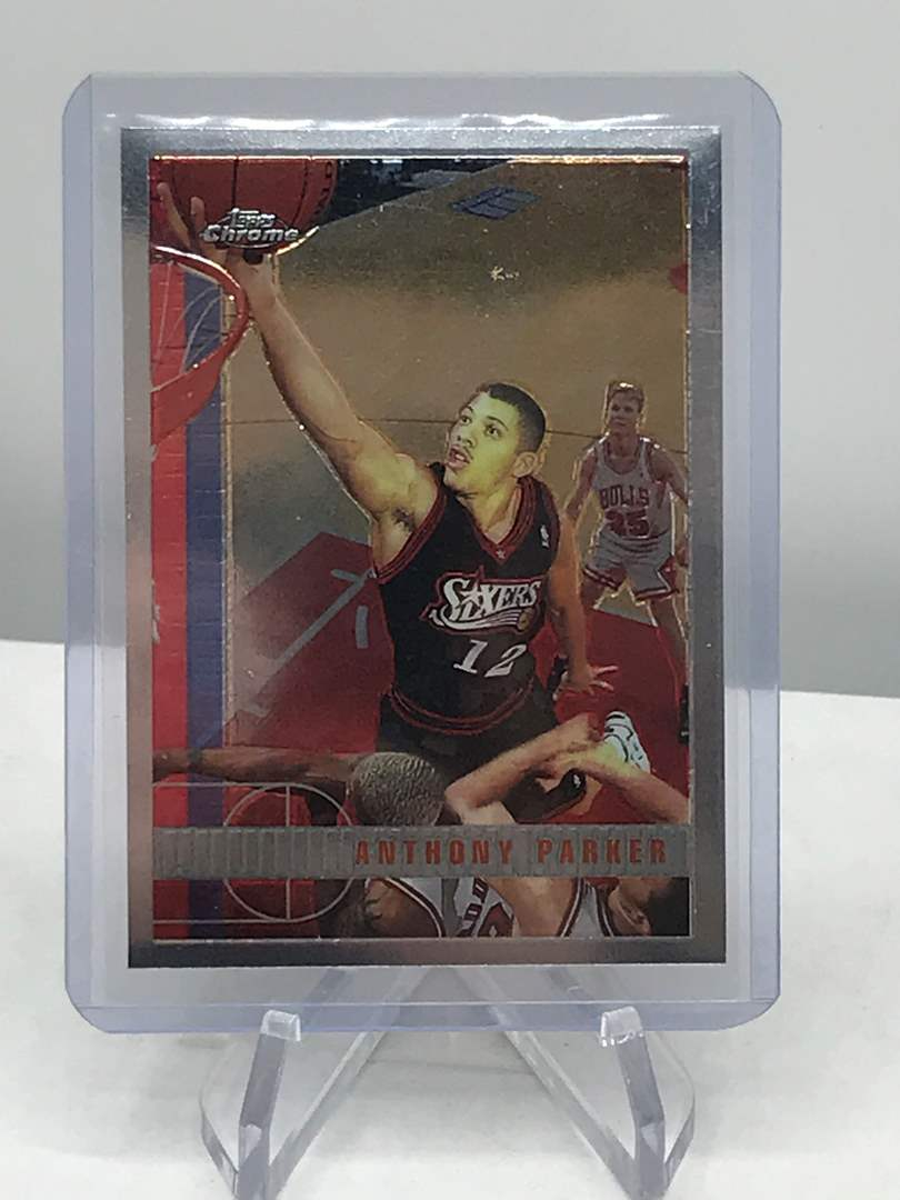 Lot # 235 1997-98 Topps Chrome ANTHONY PARKER (main image)
