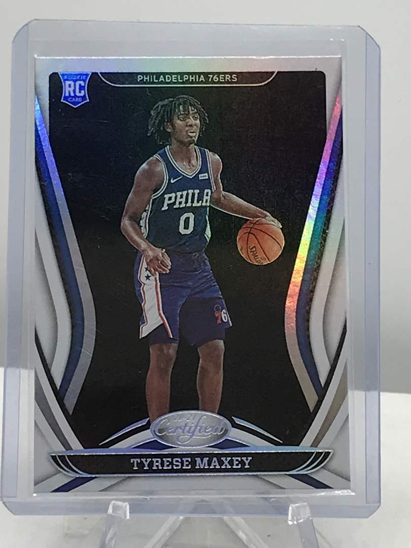 Lot # 283 2020-21 Panini Certified RC TYRESE MAXEY (main image)
