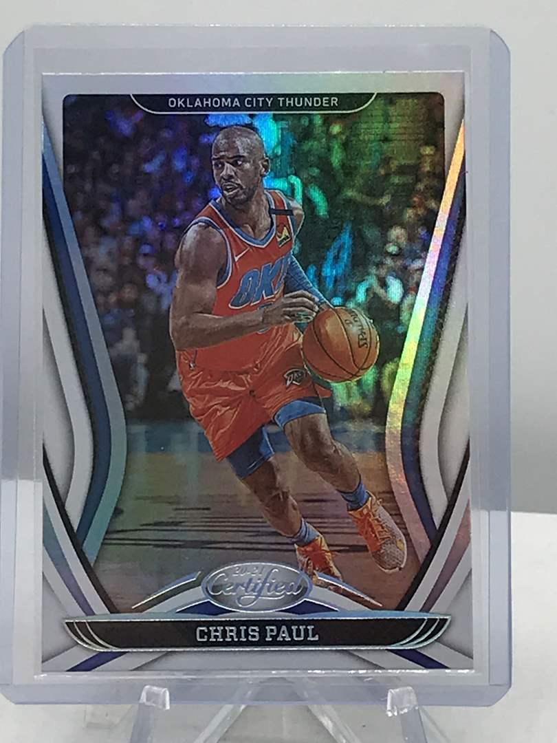 Lot # 294 2020-21 Panini Certified CHRIS PAUL  (main image)
