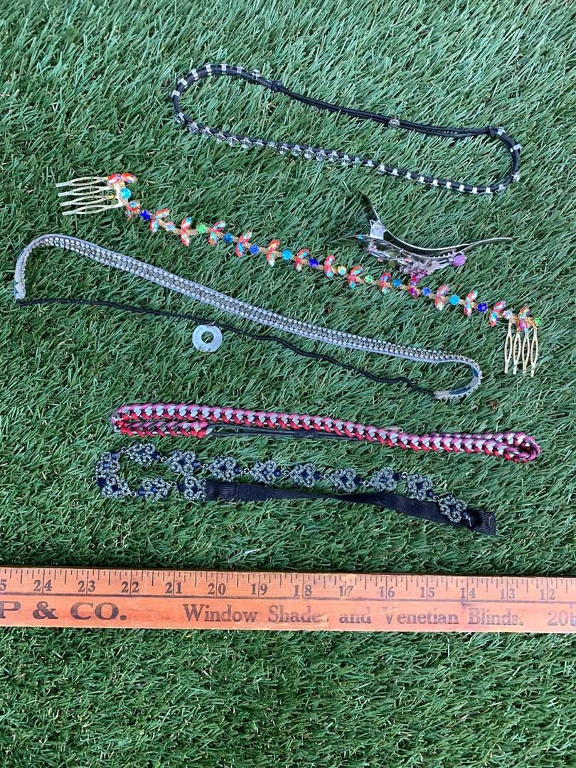 Lot # 48 Jeweled Hair Band Lot (main image)