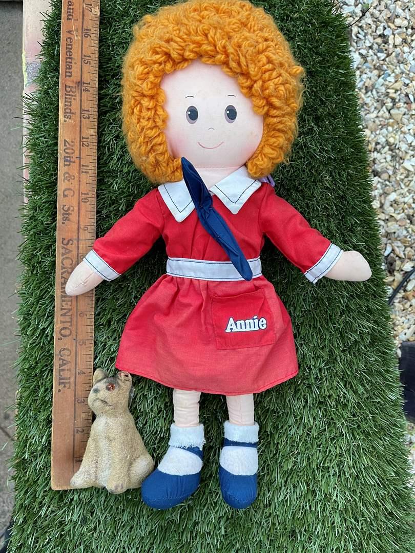 Lot # 64 Vintage Little Orphan Annie Doll (main image)