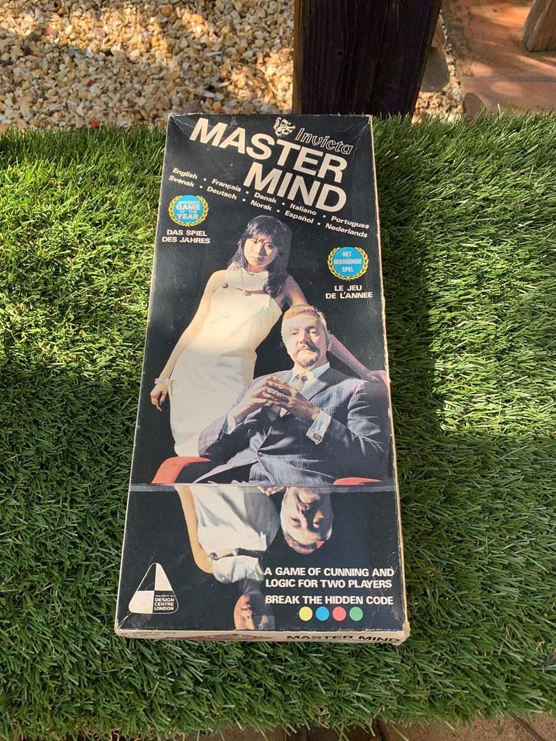 Lot # 97 Vintage Invicta Master Mind Game (main image)