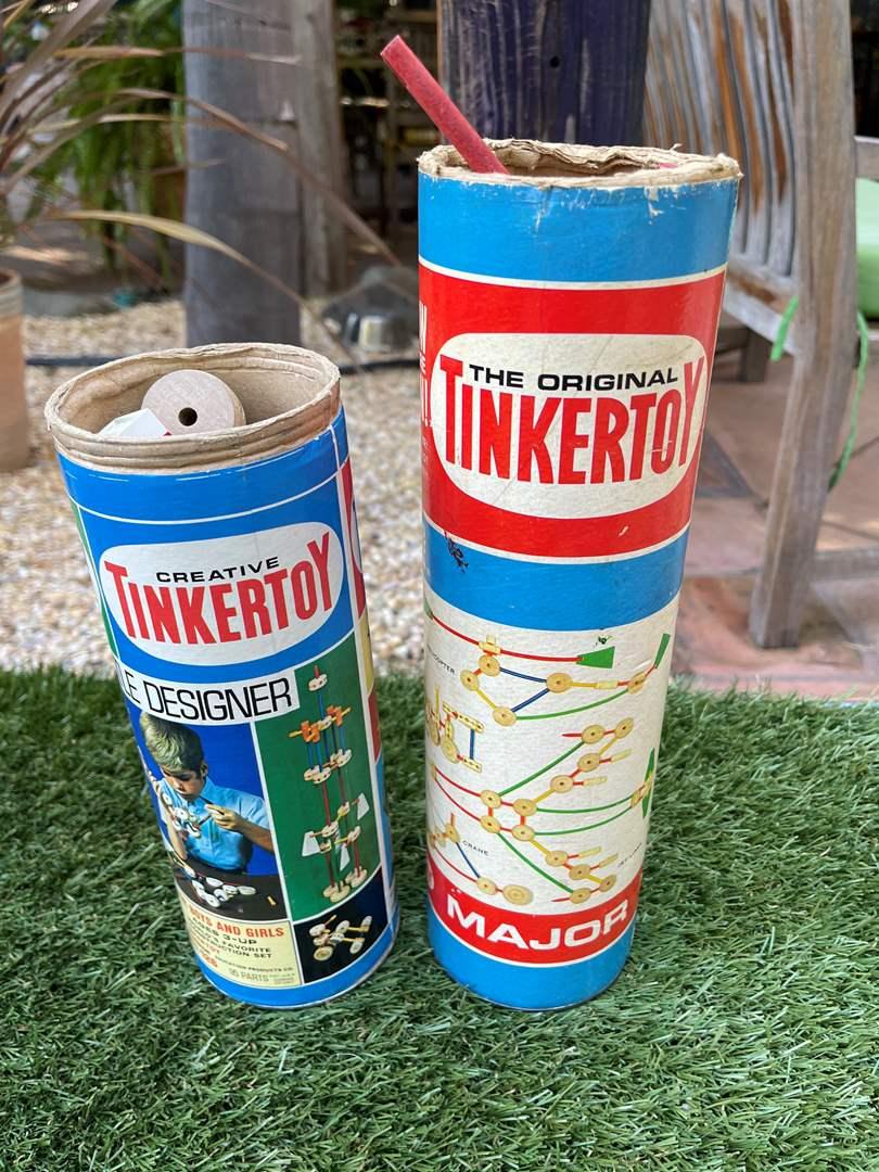 Lot # 103 Lot of Tinker Toys  (main image)