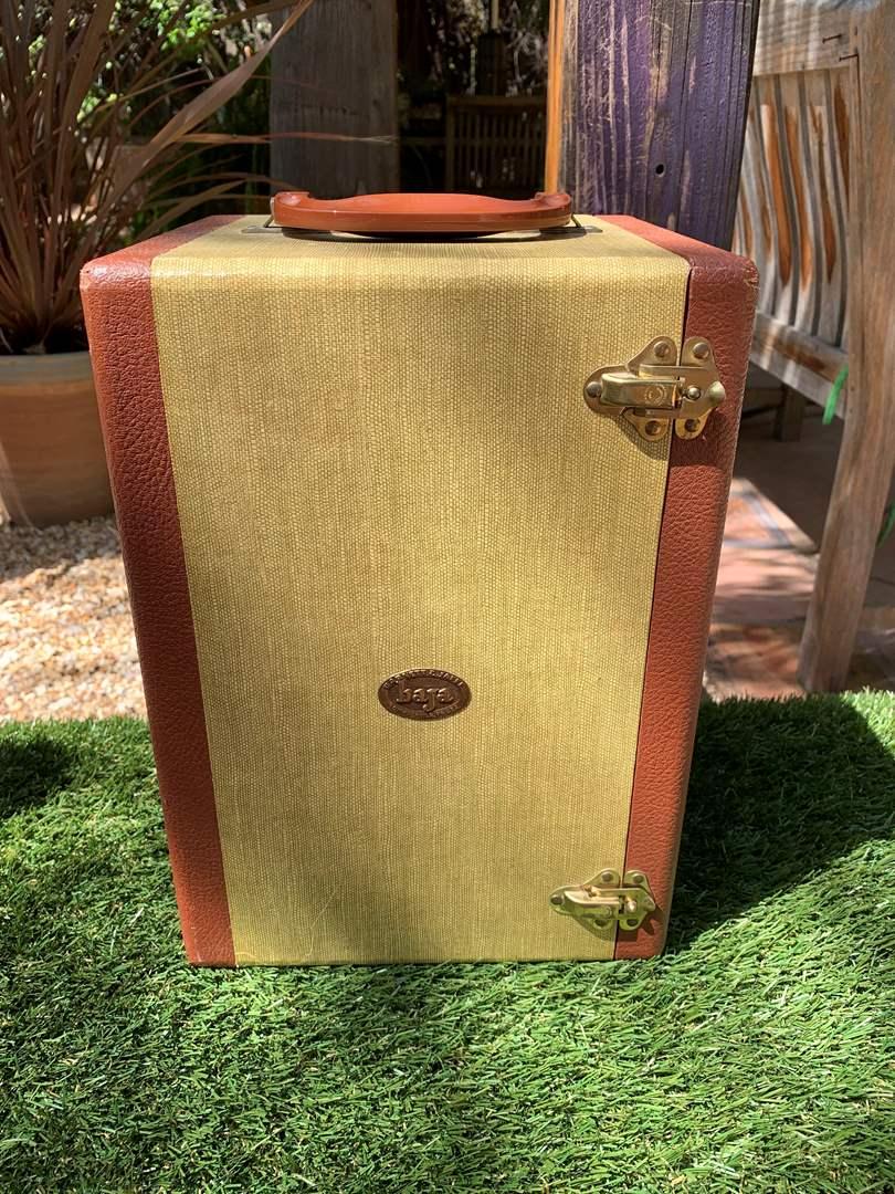 Lot # 185 Vintage Barnett Jaffe Baja Hardcover Case 5 Shelves (main image)